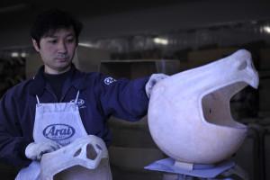 arai-fabricación de cascos